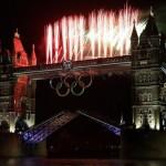 Pyro on Tower Bridge